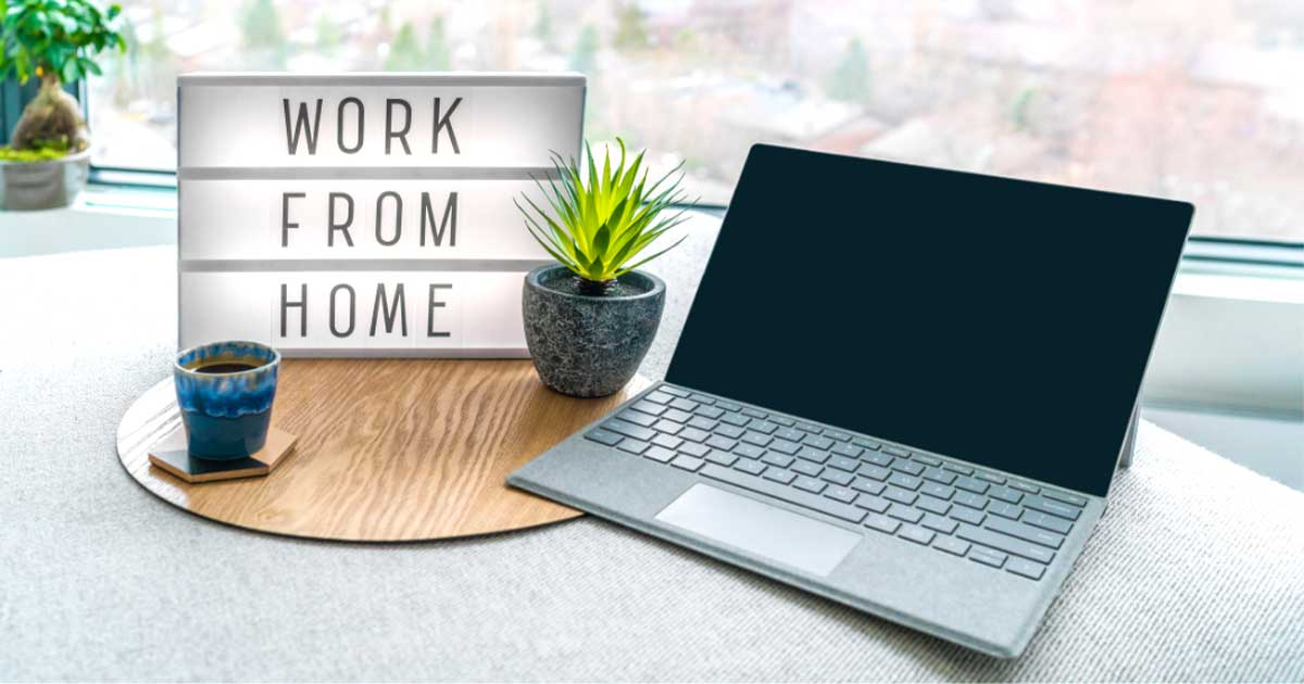 Blog - Working from home pros & cons